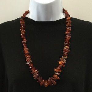 "Jewelry - Ámbar Necklace 12"" drop"